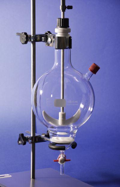 round-flask